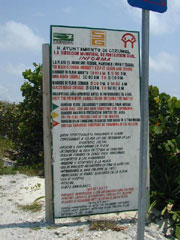 Beach Warning and Cautions