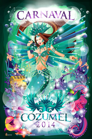 Carnaval 2014 Official Poster
