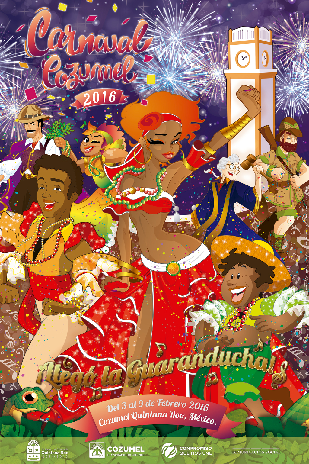 Carnaval 2016 Official Poster