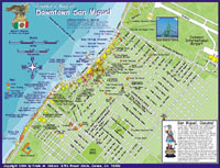 Cozumel Map - Side 2 (San Miguel part)
