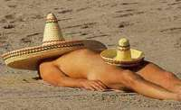 All else fails ~ use Mexican Sunblock!