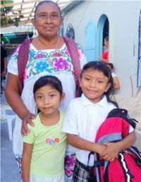 DMS school supplies  helped many Cozumel families!