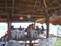 Enjoy good eats @ seaside palapa restaurant!