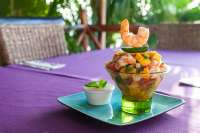 Shrimp & Mango - So REFRESHING!
