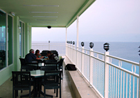 Terrace Seating - FRESH Ocean Breezes!