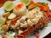 Great Seafood - Lobster Tail!