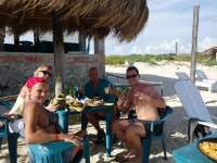 Great Beach, Great Food & Drinks - RELAXATION!