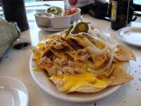 Great Chicken Nachos!