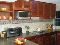 Spacious Kitchen with Electric Stove Top!