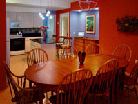 Casa de Colores - Dining Area