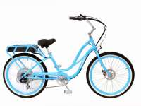 Light Blue Pedego Cruiser Electric Bike