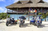 Fun Beach Club Stops with The Custom Harley Tour!