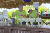 Friendly Bar Staff at Mi Mexico Lindo Tequila Tour