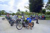 Punta Sur Pit Stop with The Custom Harley Tour!