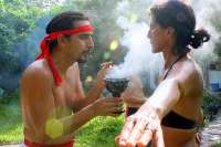 Smoke is Part of the Mayan Temazcal Ritual
