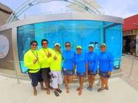 Very Friendy and Fun Staff at Clear Lounge Cozumel