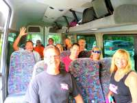 Another Group Ready to See the Sights of Cozumel!