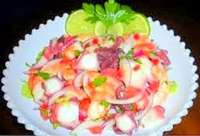 Freshly Prepared Mixed Ceviche - So Good!