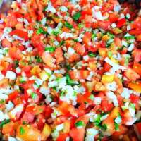 Be Sure to Try Our Fresh Made Pico de Gallo!
