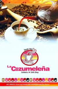 Welcome to La Cafeteria Cozumeleno & Coffee Shop!
