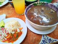Monday Special - Frijoles con Puerco - AWESOME!