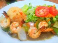 Try the Grilled Shrimp at Miss Dollar - Delicious!