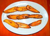Try the Fried Plantains - They Are Yummy!