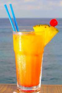 Try a Nice Tropical Beverage on Our Balcony!