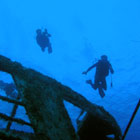 """Wreck Diving"" - Copyright © Cory Conner"